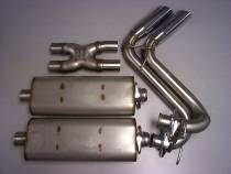Complete Bassani Exhaust
