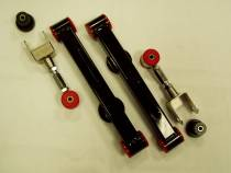 Double Adjustable Upper Control Arms and Lower Control Arms Kit